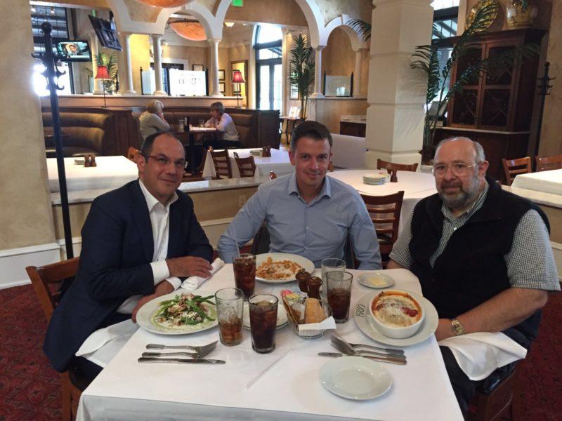 Geeraedts en Giannakopoulos ontmoeten Dr. Peter Pons
