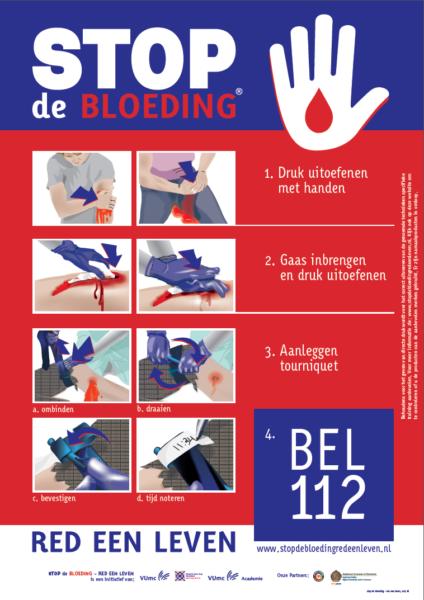 Hoe stop je de bloeding? 5