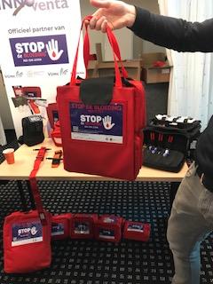 Instructeurs bedankt - terugblik Internationale Stop de bloeding dag 1