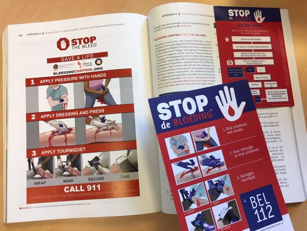 Stop de bloeding in twee leerboeken 1